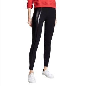 Spanx Glossy Side Stripe Leggings
